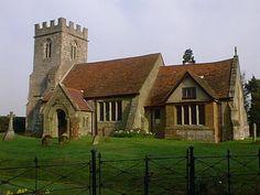 St Mary Church, Haseley, Warwickshire
