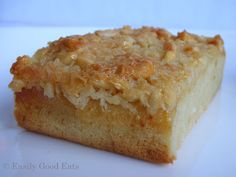 Easily Good Eats: Swedish Almond Coconut Cake (Kokos Toscatårta) Recipe