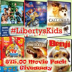#LibertysKids Giveaway event Bring the meaning of July 4th to the Forefront of your celebrations to teach them the TRUE meaning  of Liberty!      To enter:  choose 1 social media site to use            via Pinterest board using #LibertysKids and #Enesterreviews in your post