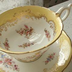 Antique Victorian tea cup set vintage 1890's