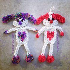 Puppy Love - Rainbow Loom Valentines Day