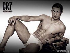 Cristiano Ronaldo models his own underwear line CR7.