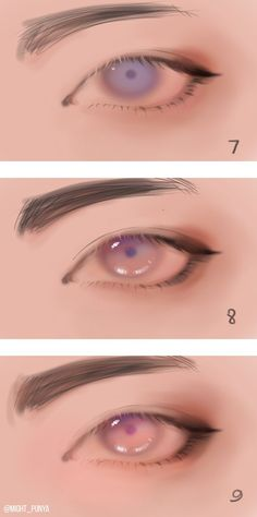 Super Ideas for drawing tutorial face eyes Eye Drawing Tutorials, Digital Painting Tutorials, Digital Art Tutorial, Drawing Techniques, Drawing Tips, Art Tutorials, Drawing Ideas, Digital Art Beginner, Poses References