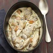 La Bressanette : la blanquette de poulet - une recette Volaille - Cuisine