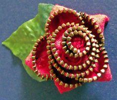 Make a Zipper flower
