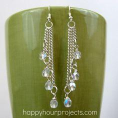25 DIY Earring Tutorials. [ Wealthwood.com ] #diyjewelry