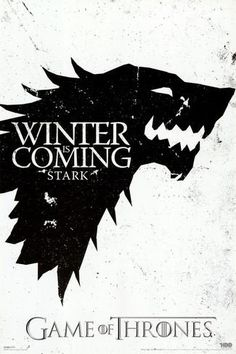 Game of Thrones - Winter is Coming - House Stark Affiche sur AllPosters.fr