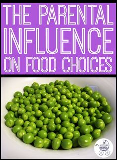 We have the facts about how parents influence their children's food choices. | Fit Bottomed Girls
