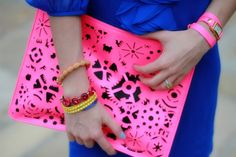So into neon at the moment. (my unofficial motto of spring: neon, not just for sports bras anymore)