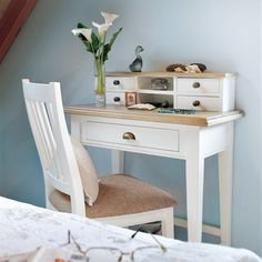 Savannah Reclaimed Wood Small Writing Desk
