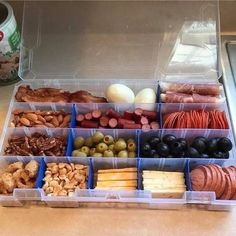 Doing Keto? Here's a great tip - take one of these boxes and fill it will Keto snacks to take with you to work or keep handy in the fridge. Then when you want a snack you can just grab the box & know everything in is is Keto! Hope this helps you