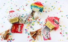 Mini Pinatas by Carissa Wiley for We R Memory Keepers
