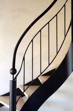 escaliers métal sur mesure, pieces uniques