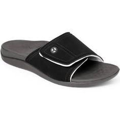 Shop a great selection of Vionic Kiwi Slide Sandal - Slide Sandal Concealed Orthotic Arch Support. Find new offer and Similar products for Vionic Kiwi Slide Sandal - Slide Sandal Concealed Orthotic Arch Support. Orthopedic Sandals, Boat Shoes, Men's Shoes, Supportive Sandals, Hush Puppies Women, Beautiful Sandals, Womens Flip Flops, Converse Men