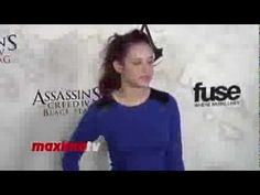 Hayley Orrantia Assassin's Creed IV Black Flag Launch Party Hosted by El...