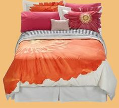 Mizrahi bedding. LOVE IT, but must be discontinued at Target. Very pricey on Ebay. -Addyson