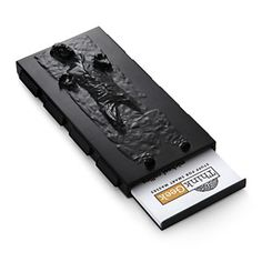 Han in carbonite spring loaded business card holder---wonder if this would hold my cards and I could use it like a wallet?
