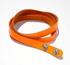 Bracciale Simple Neon Fluo Orange  Bracciale da indossare a più giri  Multiloop Bracelet