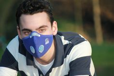 The ideal anti-pollution mask is the one that you forget you have on.