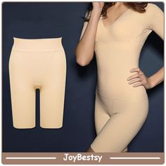 cc1ea14423d Women s Shapewear Plus Size Seamless Hi-Waist Thigh Slimmer Lingerie