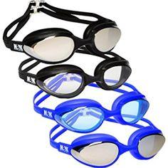 24516fa677f NAK Fitness Swim Goggles Anti Fog No Leaking Swimming Goggles for men women  and kids