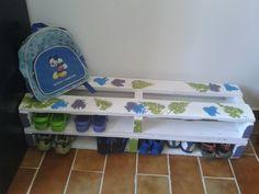 Pallet rack for shoes #Pallets, #Rack, #Shoes