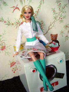 Barbie (laundry day) by anatchim, via Flickr