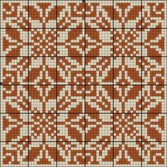 Gallery.ru / Фото #91 - Схемы для вышивки крестом - квадраты орнамент - romashkaroma Knitting Charts, Knitting Stitches, Knitting Patterns, Graph Design, Chart Design, Cross Stitch Tree, Cross Stitch Embroidery, Cross Stitch Designs, Cross Stitch Patterns