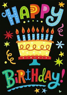 Happy Birthday to you, Happy Birthday to you!!!