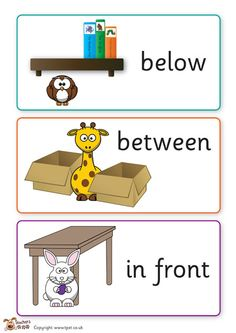 English Worksheets For Kids, English Activities, School Worksheets, Eyfs Activities, Toddler Learning Activities, Kids Learning, Literacy And Numeracy, Preschool Math, Positional Language