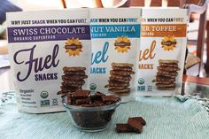 Foodie Fuel is a great healthy snack option, especially if you follow a paleo or gluten-free diet (we don't, but I know a lot of my readers do!). #spon