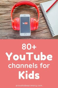 Check out this list of 80+ educational YouTube channels for kids that are great teaching resources for homeschool, distance, online, or remote learning, or in class instruction. Preschool, kindergarten, first grade, second grade, and third grade students will benefit from videos on reading, language arts, grammar, math, science, social studies, art, and music. #youtubeforkids #videosforkids #homeschool #onlinelearning #distancelearning