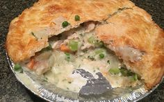 Recipe: Use the turkey leftovers from Thanksgiving to make a delicious homemade pot pie.