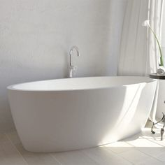 Spoil yourself with the perfectly crafted Maya bathtub. Exquisite oval shape design and an rim ensures pure bathing pleasure. Complete Bathrooms, Bathroom Design Luxury, Quartz Stone, Shape Design, Basin, Maya, Bathtubs, Pure Products, Taylors