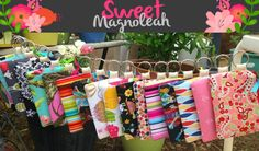 Reviews, Chews & How-Tos: Review/Giveaway: Sweet Magnoleah Handmade Textiles...