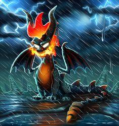 Fiery Dragon, Dragon King, Dragon Art, Dragon Head, Spyro And Cynder, Chibi Marvel, Super Mario Art, Spyro The Dragon, Dragon Games