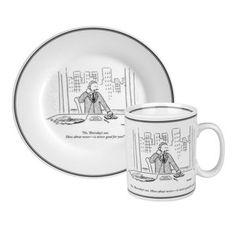 Fab.com   New Yorker Cartoons On Tableware