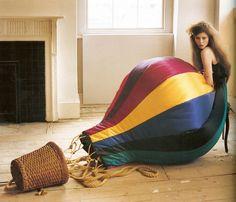 Hot air ballon dress