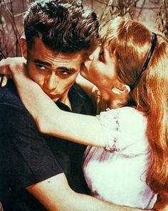 James Dean and Julie Harris in 'East of Eden', (The Nifty Fifties) Hollywood Actor, Golden Age Of Hollywood, Vintage Hollywood, Classic Hollywood, Hollywood Actresses, Vivien Leigh, Gene Kelly, Ali Larter, Steve Mcqueen