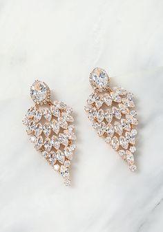 Gold Teardrop Rhinestone Chandelier Earrings - Earrings - Jewelry - Accessories