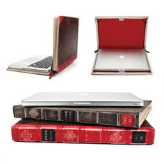 GEEK CHIC: Hide Your MacBook Pro in Plain Sight with BookBook - Gadget Girl - EllenBarone.com