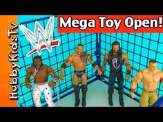WWE Mega Toy SHAKE DOWN! Steel Cage Match Royal Rumble Open Review Hobby... Junkyard Dog, Superhero Shows, Steel Cage, Royal Rumble, Roman Reigns, Wwe Superstars, Shake, Toys, Activity Toys