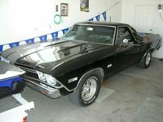 68 El Camino, such a sweet 3rd child
