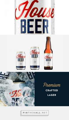 House Beer — The Dieline - Branding & Packaging Design... - a grouped images picture - Pin Them All