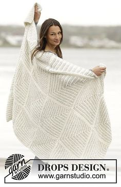 Ravelry: 163-18 Dreams of Snow pattern by DROPS design