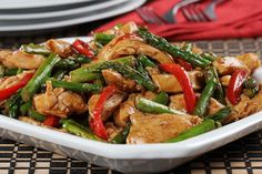 Diabetic Recipes, Low Carb Recipes, Cooking Recipes, Diabetic Foods, Chicken Stir Fry, How To Cook Chicken, Chinese Vegetables, Fresh Vegetables, Dinner Dishes