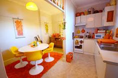 Image result for 60's style kitchen