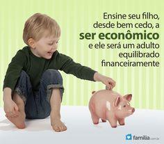 Como Ensinar Seu Filho Pequeno a Economizar