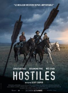 Hostiles #France #MoviePoster #RosamundPike #ChristianBale #WesStudi