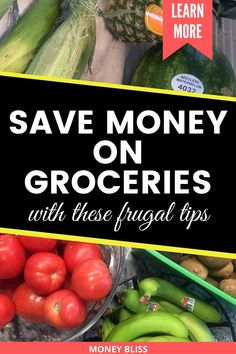 One of the best frugal living tips happens with your groceries budget. This is the perfect place for frugal living for beginners. Start with being frugal with food. Cooking healthy meals will be your new normal. Start saving money with these simple ideas! #frugalliving #budget #groceries Frugal Living Tips, Frugal Tips, Frugal Meals, Budget Meals, Freezer Meals, Healthy Meals To Cook, Healthy Cooking, Healthy Recipes, Groceries Budget